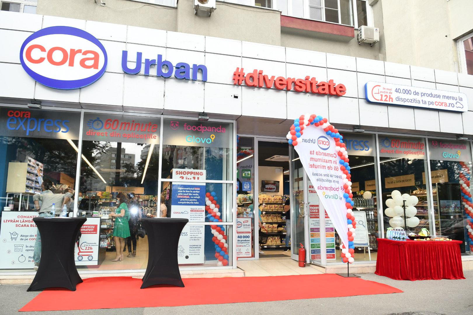 cora deschide al doilea magazin cora Urban și plănuiește noi unități în Capitală, Cluj și orașele cu hipermarket