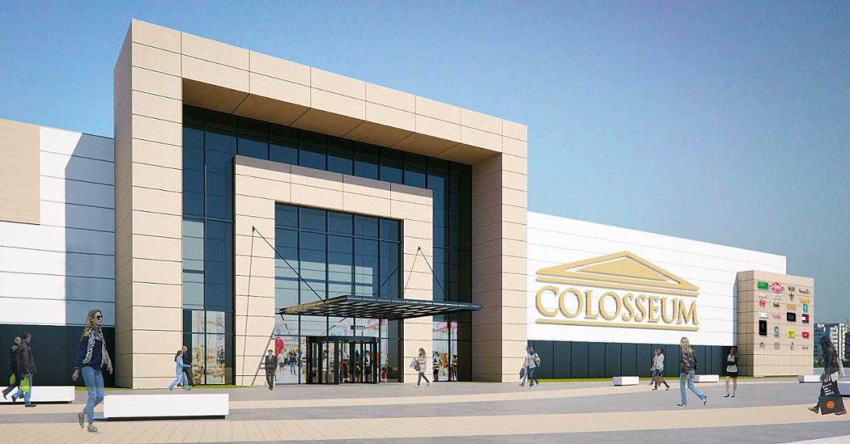 Deschiderea Colosseum Mall, amânată din cauza pandemiei. Când se deschide noul centru comercial