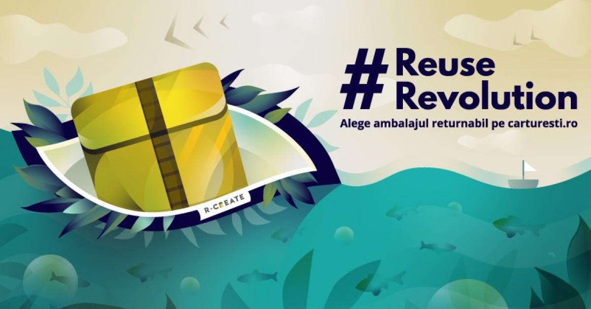 Start-up-ul R-CREATE a lansat un ambalaj returnabil pentru comerţul online, care intră în teste la Cărtureşti
