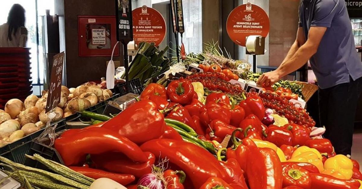 Mega Image anunță reduceri de preț la legumele marca Gusturi Românești