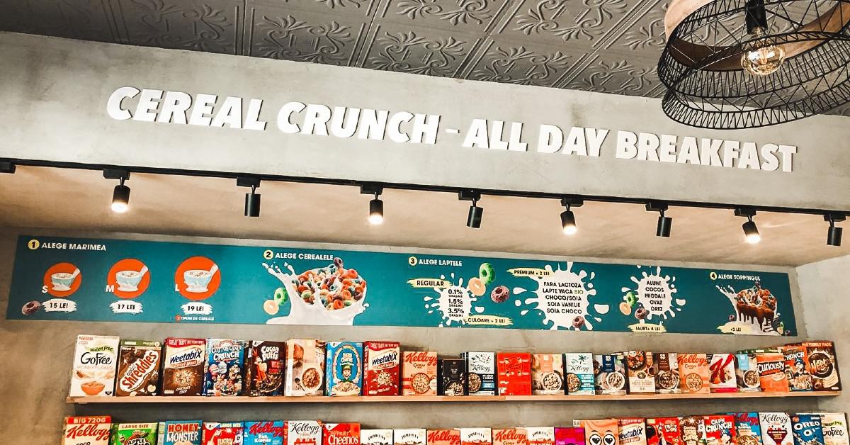 Cereal Crunch deschide prima franciză a grupului la Craiova