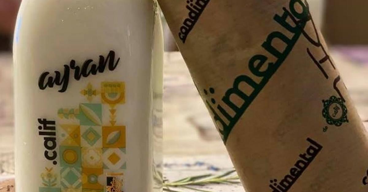 Parteneriat nou pe piață: Lăptăria cu Caimac produce Ayran pentru restaurantele Calif din Capitală