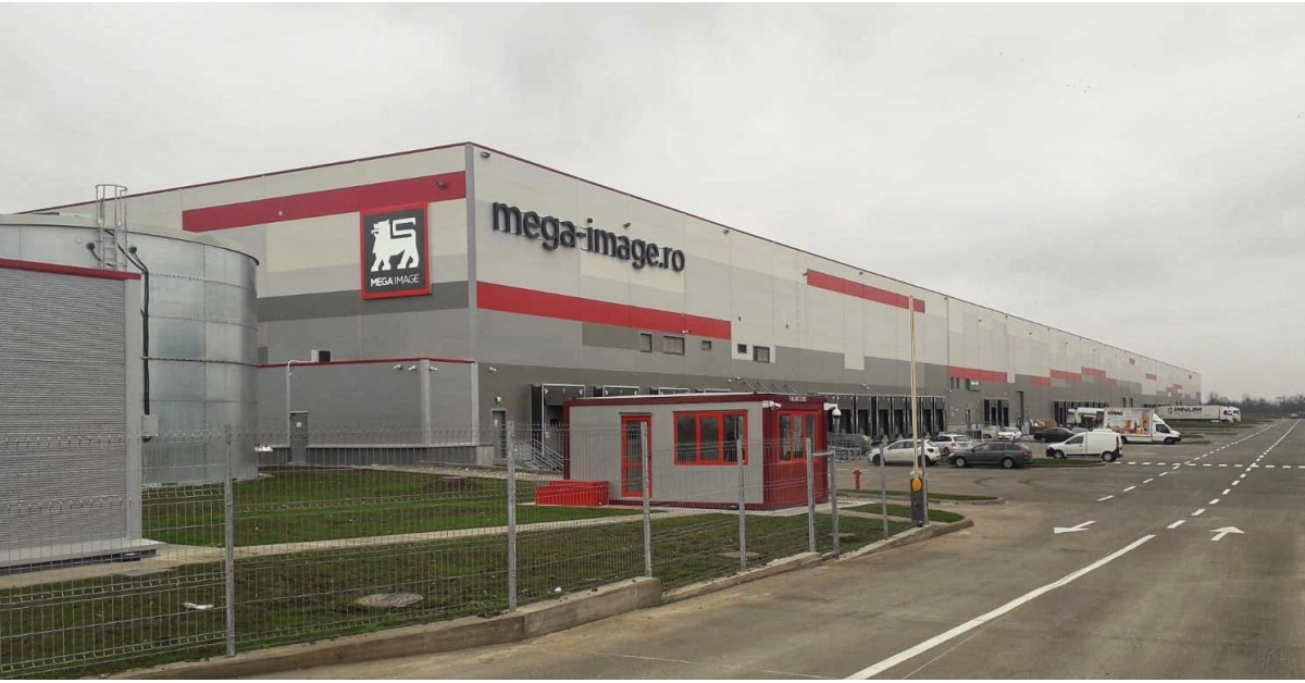 Mega Image a închiriat un mega depozit de 4.500 mp pentru eCommerce în Chitila Logistics Hub