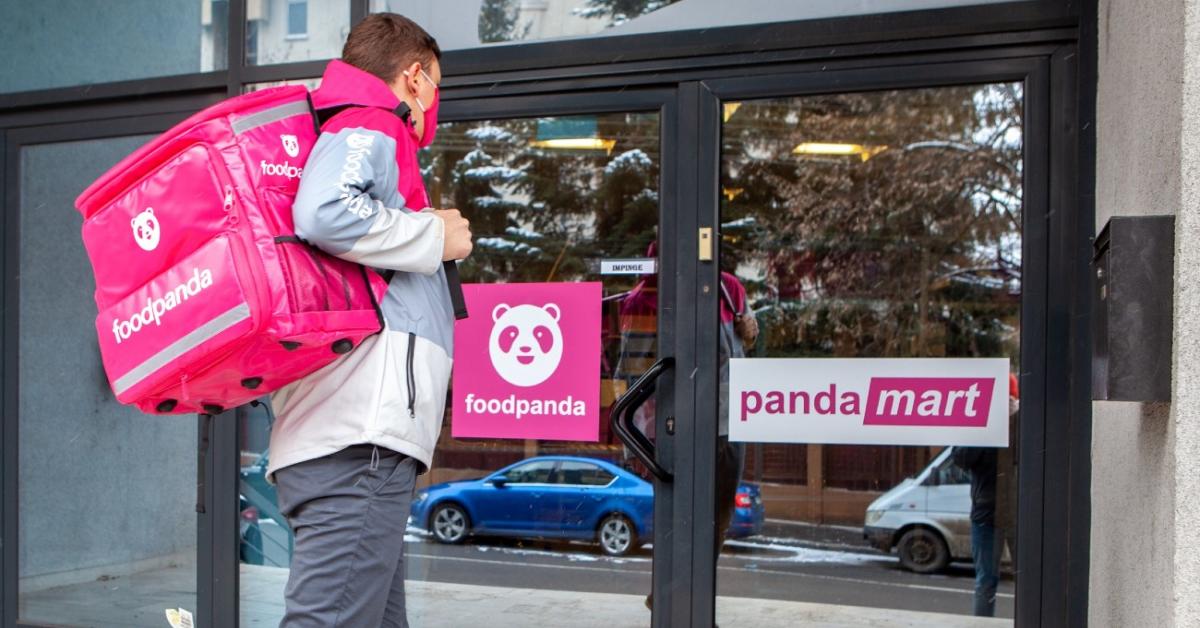 foodpanda lansează pandamart, magazine proprii pentru cumparături rapide, cu livrare în 30 de minute