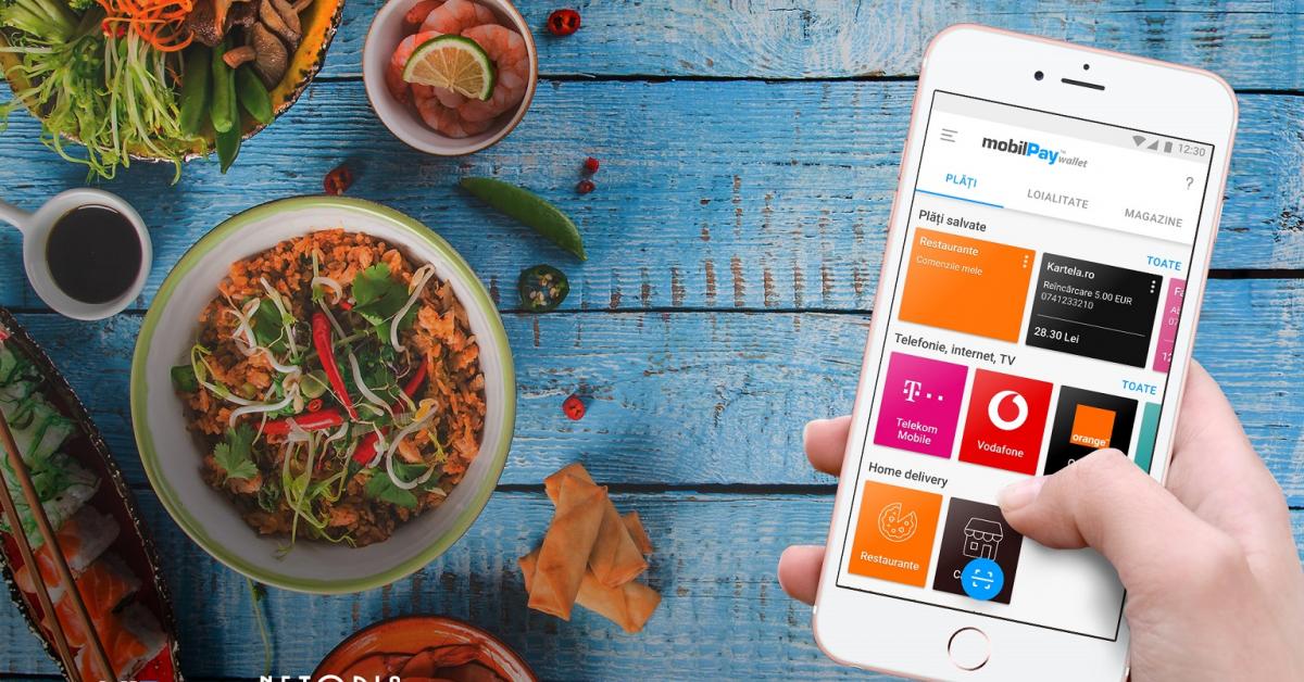 NETOPIA a lansat mobilPay Delivery, platformă pentru comenzi de la restaurante, magazine și producători locali