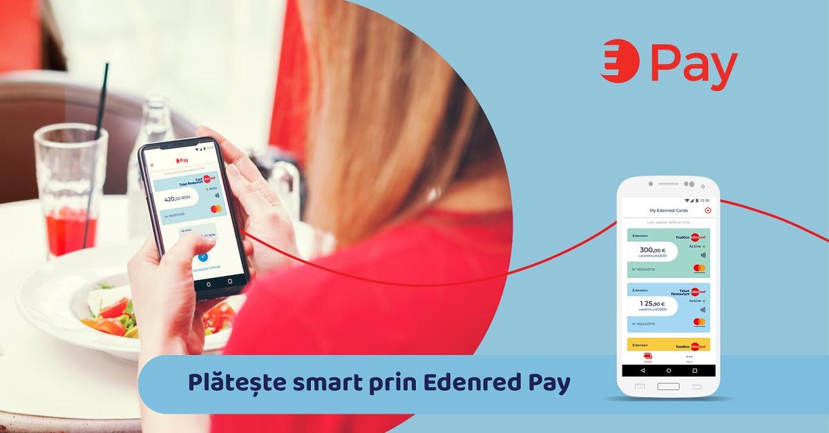 Edenred România lansează Edenred Pay, propria soluție de plăți mobile pentru Android