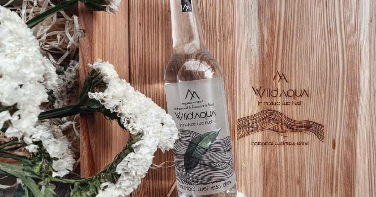 Wild Aqua, start-up ieșean pornit în pandemie care fabrică apă cu arome din flora naturală