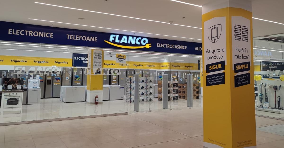 Black Friday la Flanco, între 22 octombrie și 30 noiembrie:reduceri de până la 80% la peste un milion de produse