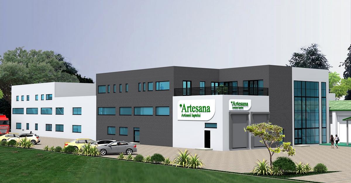 Artesana investește 5 milioane de euro într-o nouă fabrică care va tripla producția de lactate artizanale
