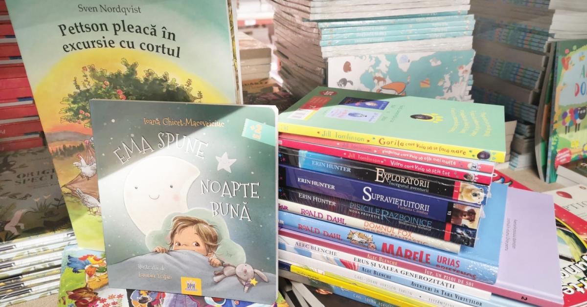Libris.ro a avut vânzări cu 81% mai mari la cartea pentru copii după închiderea școlilor