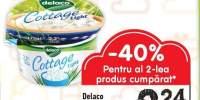 Branza cottage 2.2% grasime Delaco