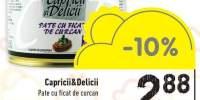 Pate cu ficat de curcan Capricii si Delicii