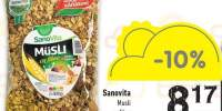 Musli cu fibre Sanovita