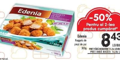 Nuggets de piept de pui Edenia