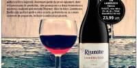 Vin Lambrusco Emilia Riunite rosu, dulce