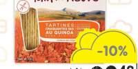 Tartine crocante Le Pain des fleurs