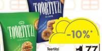 Snack cu sare/susan/ mix seminte Toortitzi