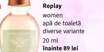 Apa de toaleta Women Replay