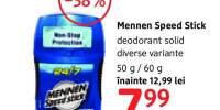 Deodorant solid Mennen Speed Stick