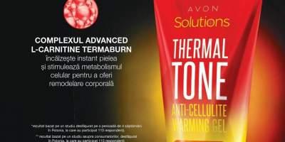 Tratament anticelulitic Therma Tone cu efect de incalzire