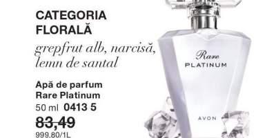 Apa de parfum Rare Platinum