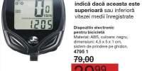 Indicator de viteza pentru bicicleta