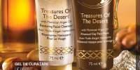 Gel de curatare hidratant pentru fata/ masca de fata cu argila Treasures of the Desert