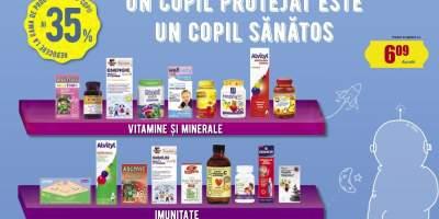 Vitamine si minerale imunitate pentru copii