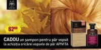 La achizita oricarei vopsele de par Apivita ai cadou un sampon pentru par vopsit