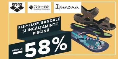 Flip-flop, sandale si incaltaminte piscina