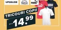 Tricouri copii sport UP2GLIDE /  Kappa /  Puma