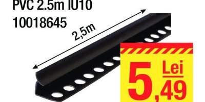 Profil colt interior PVC IU10