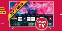 Televizor LED Smart Full HD, 80 cm, PHILIPS 32PFS5823/12