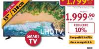 Televizor LED Smart Ultra HD 4K, HDR, 139 cm, SAMSUNG 55NU7093