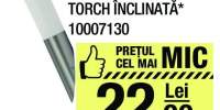 Aplica exterior inox Torch inclinata