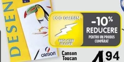 Bloc de desen A4 Canson Toucan