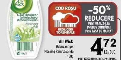 Odorizant gel Morning Rain/ Lavanda Air Wick