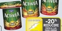 Activia iaurt natural musli