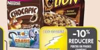 Chocapic/Cookie Crisp/Cini Minis/Lion/Cheerios/Fitness