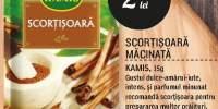 Scortisoara macinata, Kamis