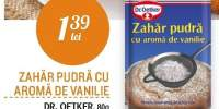 Zahar pudra cu aroma de vanilie Dr. Oetker