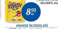 Arahide in ciocolata M&M