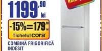 Combina frigorifica Indesit CAA55