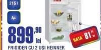 Frigider cu 2 usi Heinner HF-215A+