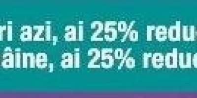 Reducere 25%