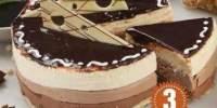 Tort Mousse 3 Chocolat Cora