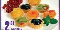 Minitarte fructe Cora