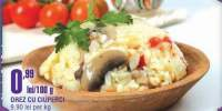 Orez cu ciuperci Cora