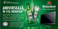 Aniverseaza in stil Heineken!