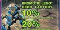 Promotie Lego Hero Factory